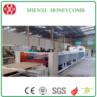 High Speed paper Honeycomb board Laminating Machine