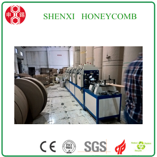 L Shape Paper Edge Board Protector Machine