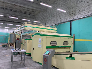 Deluxe Type Honeycomb Paper Board Produce Machine