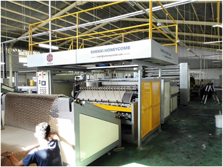 Washable Paper Honeycomb Core Produce Machine