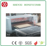 Honeycomb paper panel slitting machine with CE