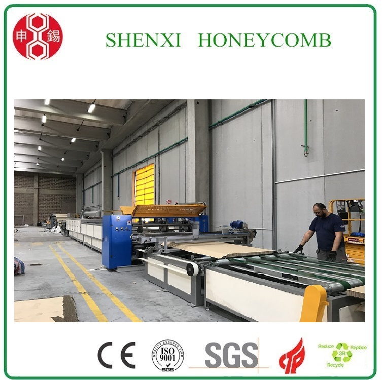 Hot sale Honeycomb Paper Board Machine