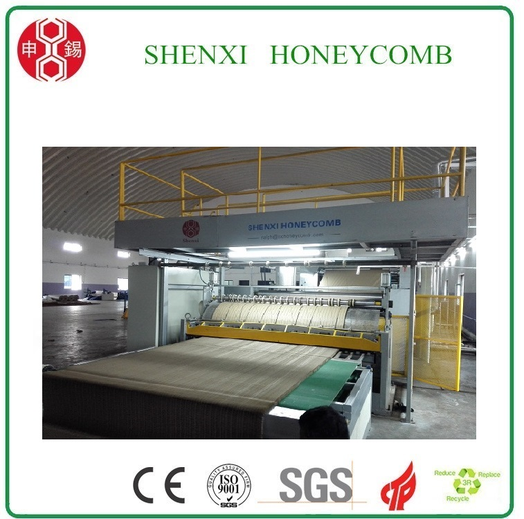 High Speed Paper Honeycomb Core Making Machine with CE