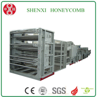 HXCC-1600 Semi-automatic honeycomb core machine